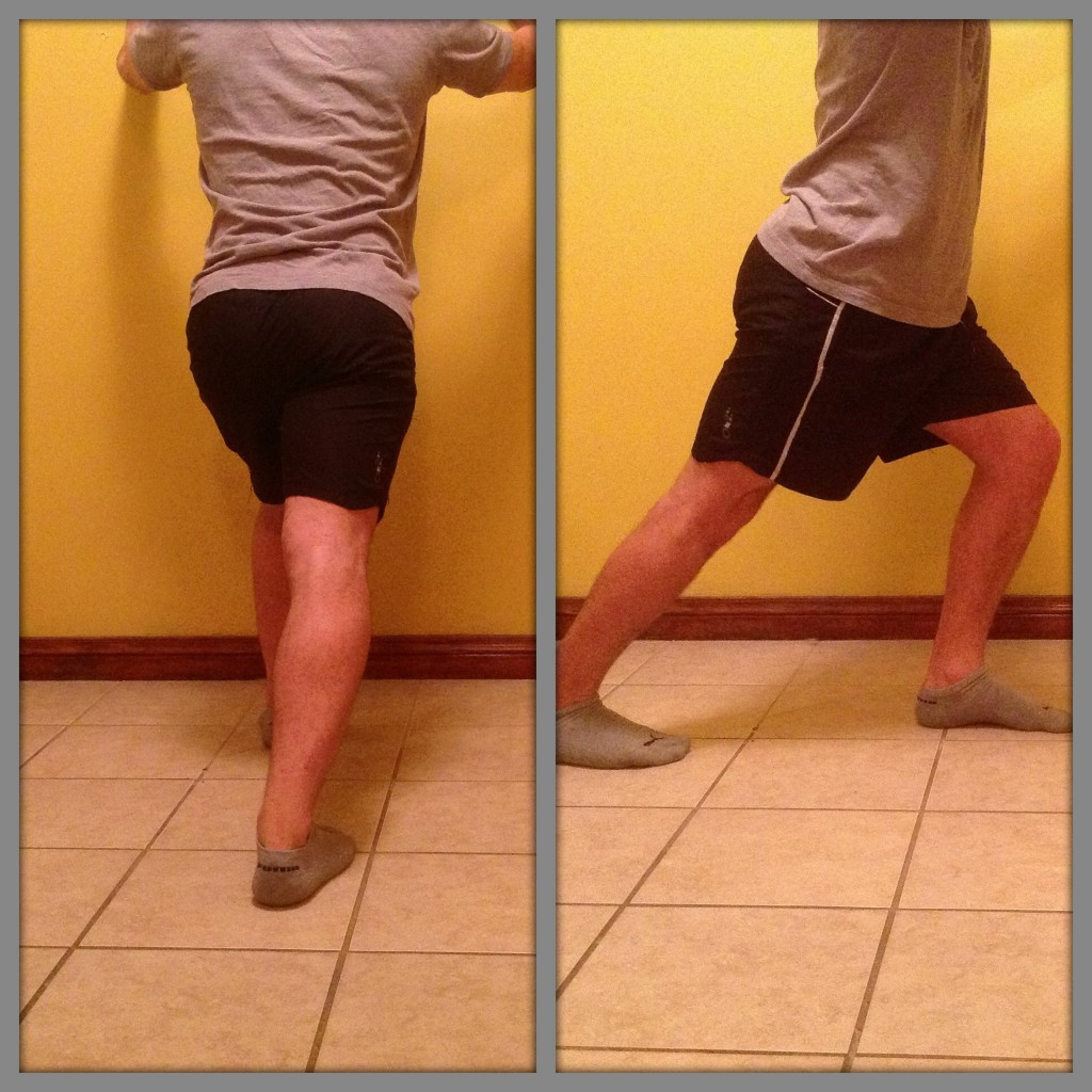Stretch exercise for calf