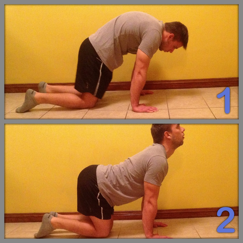 Stretch exercise for low back 2
